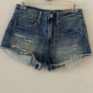High-Rise Festival American Eagle Jeans Shorts NWT
